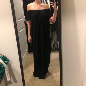 ASOS: Off the shoulder maxi dress